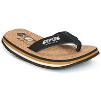 Sapatos Homem Chinelos Cool shoe ORIGINAL Preto / Camel