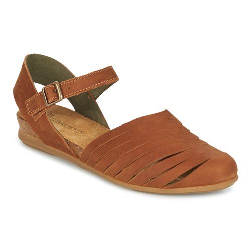 Sapatos Mulher Sandálias El Naturalista STELLA Castanho