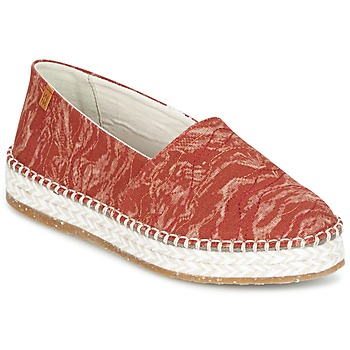 Sapatos Mulher Alpargatas El Naturalista SEAWEED CANVAS Vermelho / Laranja