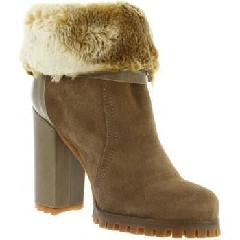 Sapatos Mulher Botins MTNG 93460 Marr?n
