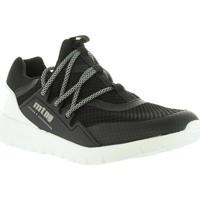 Sapatos Homem Sapatilhas MTNG 84155 Negro