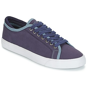 Sapatos Homem Sapatilhas Hackett MR CLASSIC PLIMSOLE Marinho