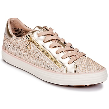 Sapatos Mulher Sapatilhas S.Oliver BOOMBO Rosa / Ouro