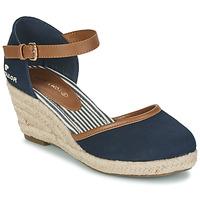 Sapatos Mulher Escarpim Tom Tailor ESKIM Marinho