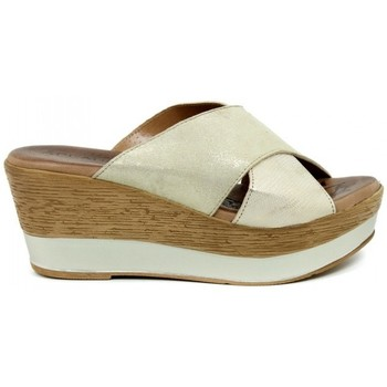 Sapatos Mulher Chinelos Aplauso 14003 bege