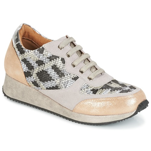 Sapatos Mulher Sapatilhas Karston SEMIR Bege / Ouro