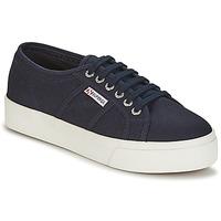 Sapatos Mulher Sapatilhas Superga 2730 COTU Marinho / Branco