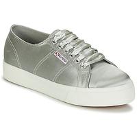 Sapatos Mulher Sapatilhas Superga 2730 SATIN W Cinza
