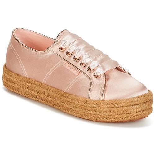 Sapatos Mulher Sapatilhas Superga 2730 SATIN COTMETROPE W Rosa
