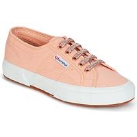 Sapatos Mulher Sapatilhas Superga 2750 CLASSIC SUPER GIRL EXCLUSIVE Pêssego
