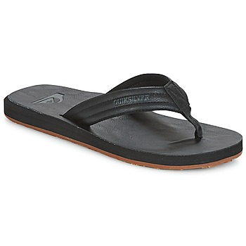 Sapatos Homem Chinelos Quiksilver CARVER NUBUCK M SNDL SBKM Preto