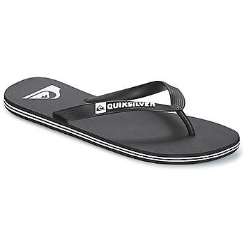 Sapatos Homem Chinelos Quiksilver MOLOKAI M SNDL XKKW Preto