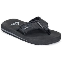 Sapatos Rapaz Chinelos Quiksilver MONKEY ABYSS YT B SNDL XKKC Preto