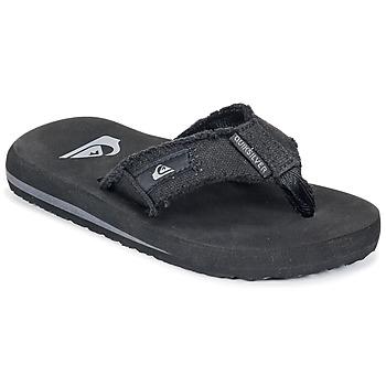 Sapatos Criança Chinelos Quiksilver MONKEY ABYSS YT B SNDL XKKC Preto