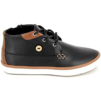 Sapatos Criança Sapatilhas de cano-alto Faguo Wattle Leather BB Noir Preto