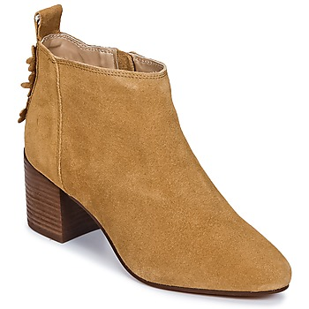 Sapatos Mulher Sapatilhas Esprit CANDY BOOTIE Camel