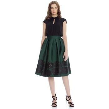 Textil Mulher Vestidos curtos Kocca Vestido Ubegano Verde