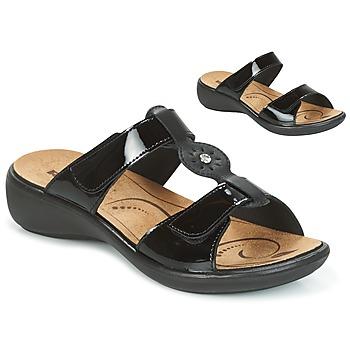 Sapatos Mulher Chinelos Romika IBIZA 82 Preto