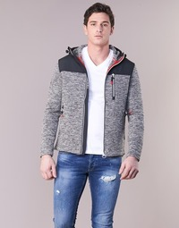 Textil Homem Sweats Superdry STORM MOUNTAIN ZIPHOOD Cinza