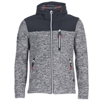 Textil Homem Sweats Superdry STORM MOUNTAIN ZIPHOOD Cinza