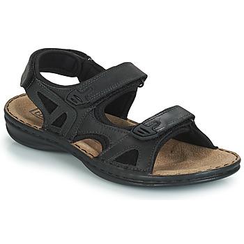 Sapatos Homem Sandálias TBS BERRIC Preto
