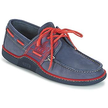 Sapatos Homem Sapato de vela TBS GLOBEK Azul / Vermelho