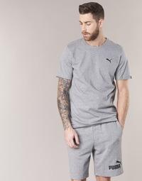 Textil Homem T-Shirt mangas curtas Puma ESS TEE Cinza