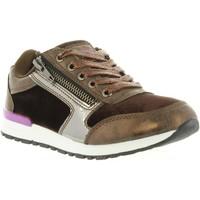 Sapatos Mulher Sapatilhas Lois Jeans 83848 Marrón