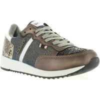 Sapatos Mulher Sapatilhas Lois 83849 15 TAUPE Negro