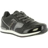 Sapatos Rapariga Sapatilhas Lois Jeans 83847 Negro
