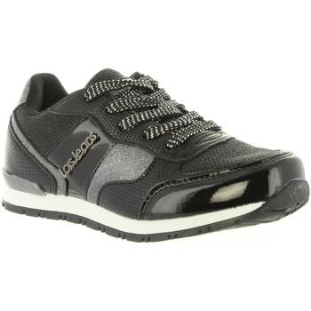 Sapatos Rapariga Sapatilhas Lois 83847 Negro