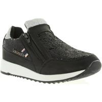 Sapatos Rapariga Sapatilhas Lois Jeans 83851 Negro