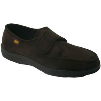 Sapatos Homem Chinelos Doctor Cutillas Velcro Shoe  pés muito delicados em marrom marrón
