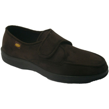 Sapatos Homem Chinelos Doctor Cutillas Velcro Shoe  pés muito de marrón
