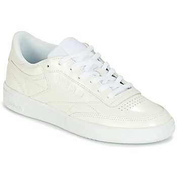 Sapatos Mulher Sapatilhas Reebok Classic CLUB C 85 PATENT Branco