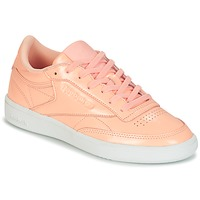 Sapatos Mulher Sapatilhas Reebok Classic CLUB C 85 PATENT Rosa