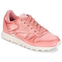 Sapatos Mulher Sapatilhas Reebok Classic CLASSIC LEATHER SATIN Rosa