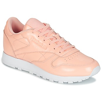 Sapatos Mulher Sapatilhas Reebok Classic CLASSIC LEATHER PATENT Rosa
