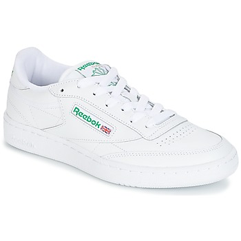 Sapatos Sapatilhas Reebok Classic CLUB C 85 Branco / Verde