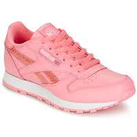 Sapatos Rapariga Sapatilhas Reebok Classic CLASSIC LEATHER SPRING Rosa