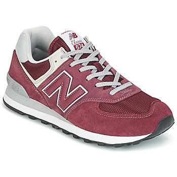 Sapatos Sapatilhas New Balance ML574 Bordô