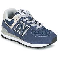 Sapatos Criança Sapatilhas New Balance 574 Marinho