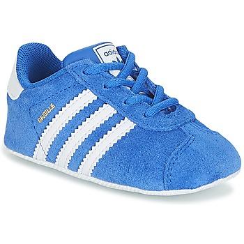 Sapatos Rapaz Sapatilhas adidas Originals GAZELLE CRIB Azul