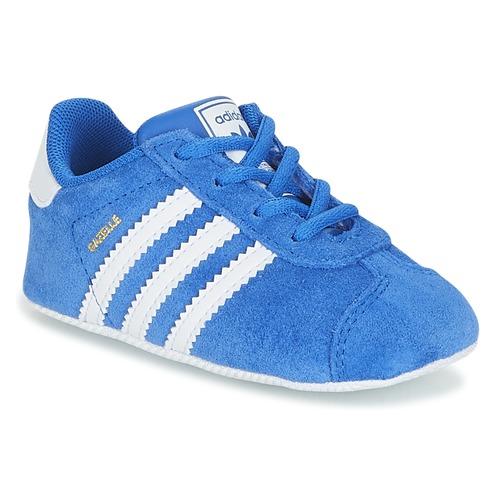 Sapatos Criança Sapatilhas adidas Originals GAZELLE CRIB Azul