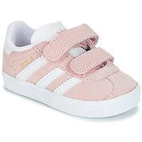 Sapatos Rapariga Sapatilhas adidas Originals GAZELLE CF I Rosa