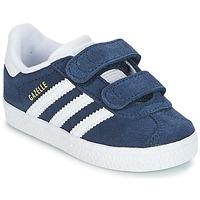 Sapatos Rapaz Sapatilhas adidas Originals GAZELLE CF I Marinho