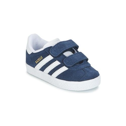 Sapatos Criança Sapatilhas adidas Originals GAZELLE CF I Marinho