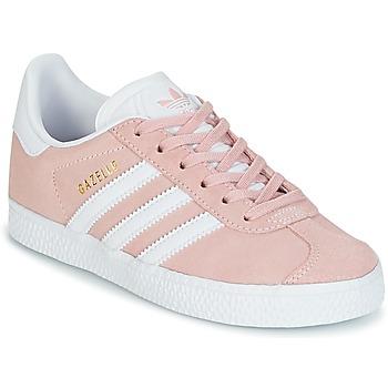 Sapatos Rapariga Sapatilhas adidas Originals GAZELLE C Rosa