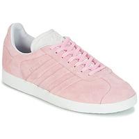 Sapatos Mulher Sapatilhas adidas Originals GAZELLE STITCH Rosa