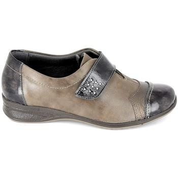Sapatos Mulher Sapatos Boissy Derby 7510 Noir Castanho